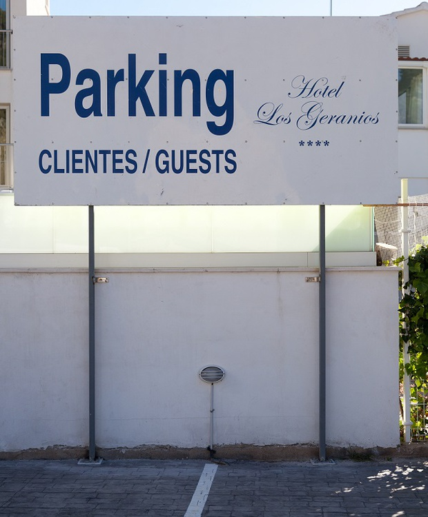 Parking Hôtel Los Geranios